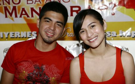 Paano Ba Ang Mangarap? Mark Herras and Jennylyn Mercado Photograph