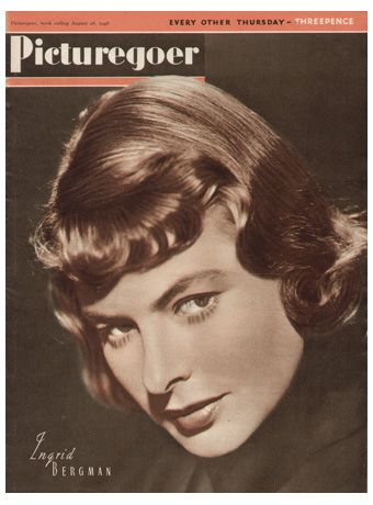 Ingrid Bergman - Picturegoer Magazine [United Kingdom] (28 August 1948)