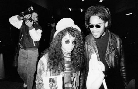 Lisa Bonet Lenny Kravitz and