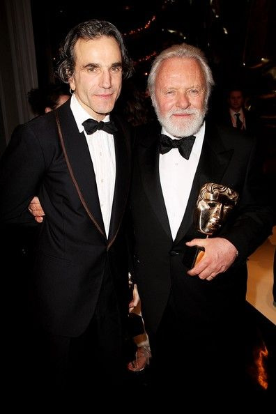 Anthony Hopkins Daniel Day-Lewis Photograph