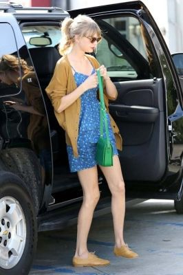 Taylor Swift - MAY 24 - ARRIVING AT JOAN'S ON THIRD IN LOS ANGELES, CALIFORNIA