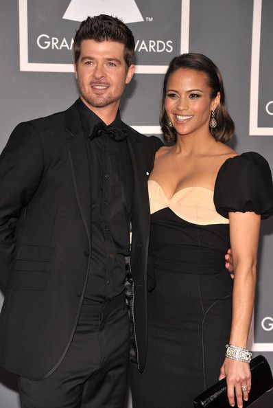 Robin Thicke Paula Patton and