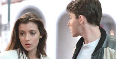 Mia Sara Matthew Broderick and  in Ferris Bueller's Day Off (1986)