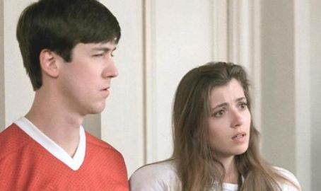 Alan Ruck Mia Sara and  in Ferris Bueller's Day Off (1986)