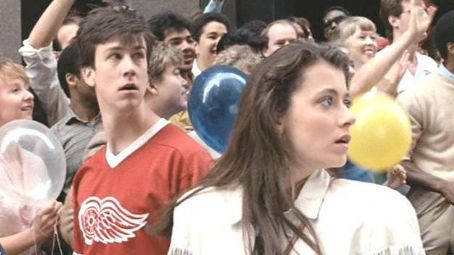 Alan Ruck  and Mia Sara in Ferris Bueller's Day Off (1986)