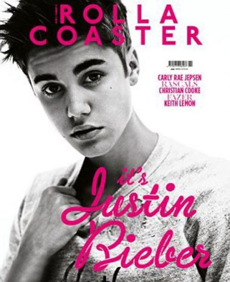 Justin Bieber - Rolla Coaster Magazine Cover [United Kingdom] (2 June 2012)