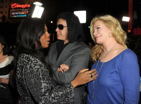 Omarosa Manigault Gene Simmons and wife Shannon Tweed attend Relatively Media's