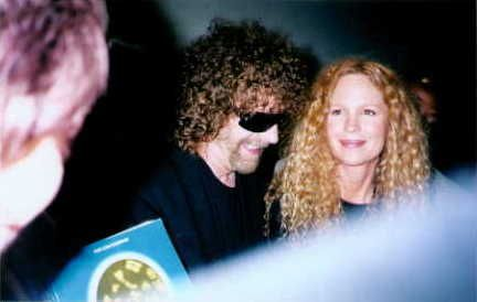 Rosie Vela  and Jeff Lynne