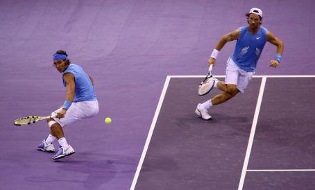 Carlos Moyá Carlos Moya and Rafa Nadal