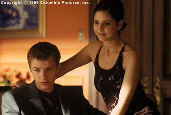 Cruel Intentions Ryan Phillippe and Sarah Michelle Gellar in Columbia's  - 1999