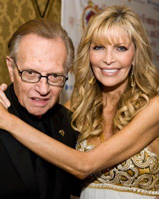 Larry King  & Wife