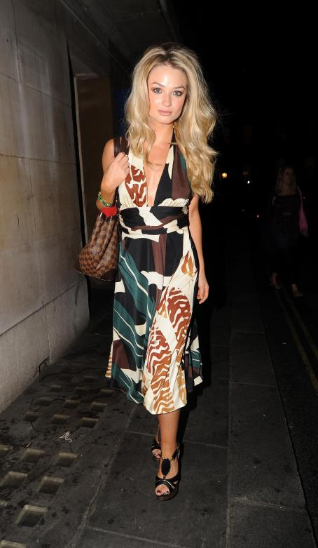 Emma Rigby - In The West End In London, July 24, 2010