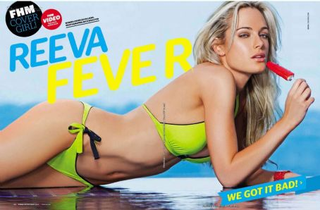 Reeva Steenkamp FHM South Africa December 2011