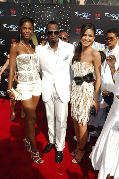 Quincy Brown P. Diddy and Cassie