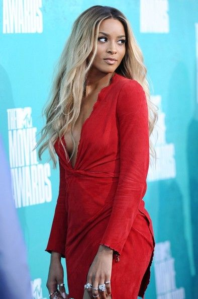 Ciara arrives at the 2012 MTV Movie Awards held at Gibson Amphitheatre on June 3, 2012 in Universal City, California