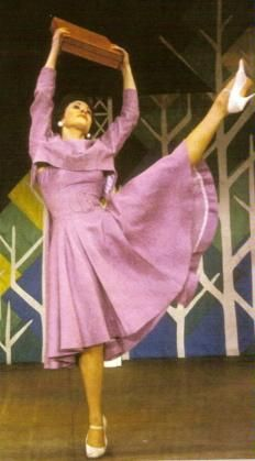 Chita Rivera CHITA RIVERA IN A SCENE FROM THE 1960 MUSICAL ''BYE BYE BIRDIE''