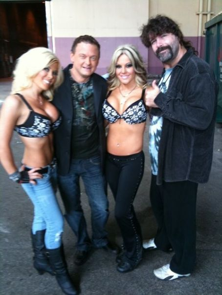 Talia Madison - Madison Rayne, Jeremy Borash, Velvet Sky and Mick Foley
