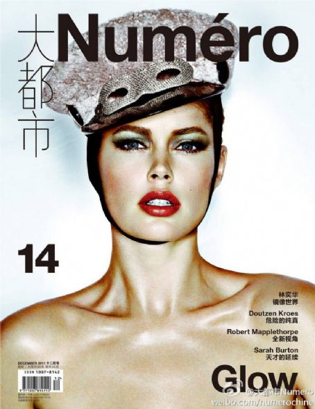 Doutzen Kroes Numero China December 2011