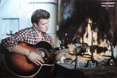 Johnny Hallyday - Salut les Copains Magazine Pictorial [France] (February 1963)