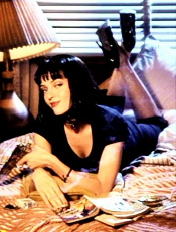 Pulp Fiction Uma Thurman -  Photoshoot