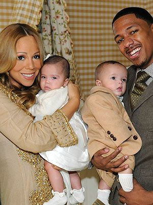 Mariah Carey & Nick Cannon Show Off Twins to Barbara Walters