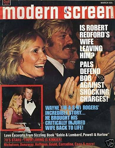 Robert Redford - Modern Screen Magazine [United States] (March 1975)