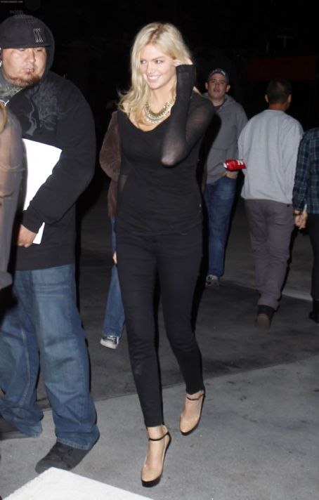 Kate Upton Exits The Staples Center