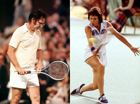 Billie Jean King Bobby Riggs &