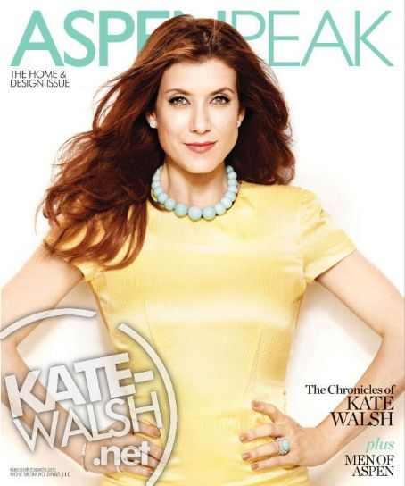 Kate Walsh - AspenPeak Magazine Cover [United States] (June 2011)