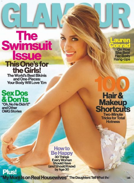 Lauren Conrad - Glamour Magazine Cover [United States] (May 2012)