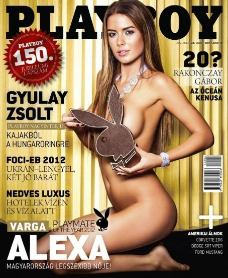 Alexandra Varga - Playboy Magazine Cover [Hungary] (June 2012)