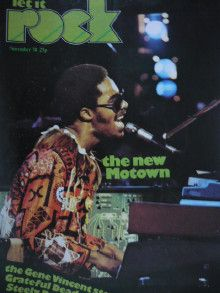 Stevie Wonder - Let It Rock Magazine Cover [England] (November 1974)