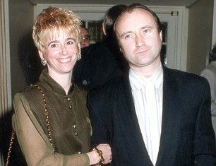 Phil Collins and Jill Tavelman