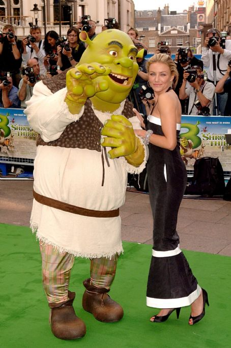 "Shrek the Third - Cameron Diaz - ""Shrek The Third"" UK Premiere In London"