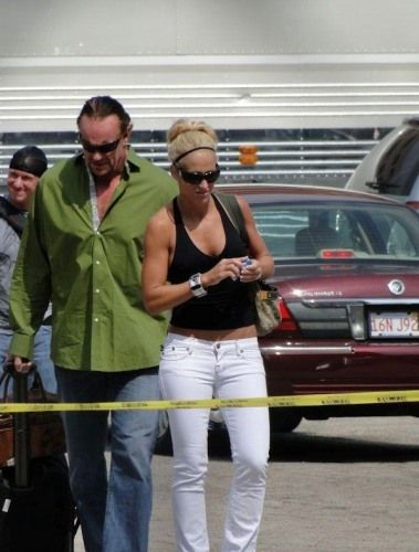 Michelle McCool and Mark Calaway