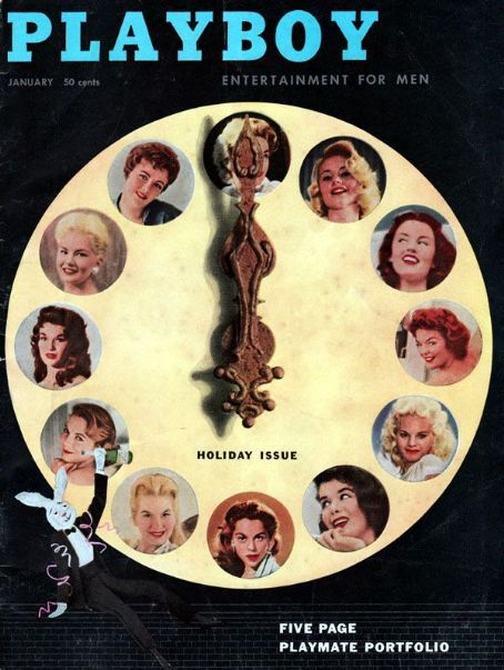 Playboy Magazine [United States] (January 1957)