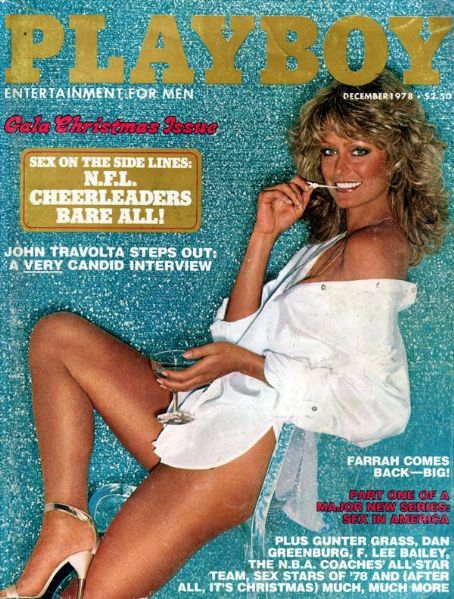 Farrah Fawcett - Playboy Magazine [United States] (December 1978)