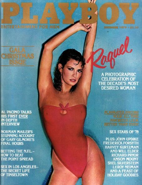 Raquel Welch - Playboy Magazine [United States] (December 1979)
