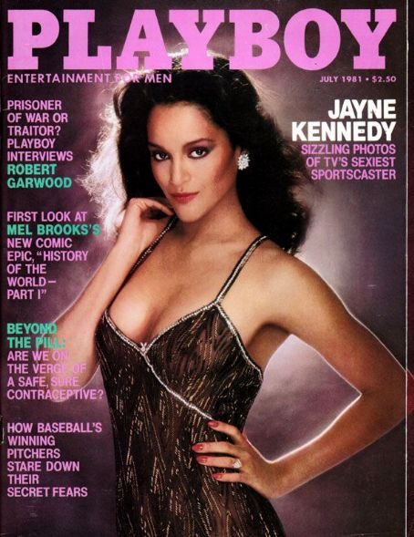 Jayne Kennedy - Playboy Magazine [United States] (July 1981)