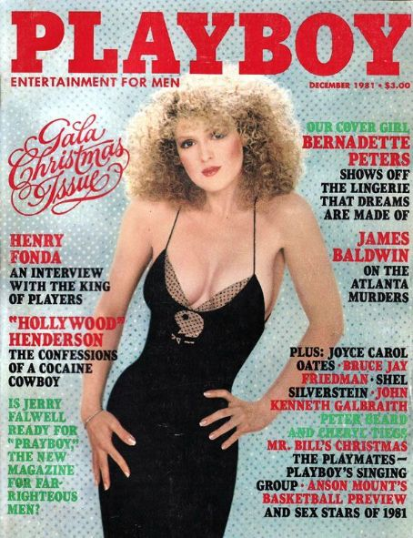 Bernadette Peters - Playboy Magazine [United States] (December 1981)