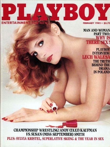 Kimberly McArthur - Playboy Magazine [United States] (February 1982)