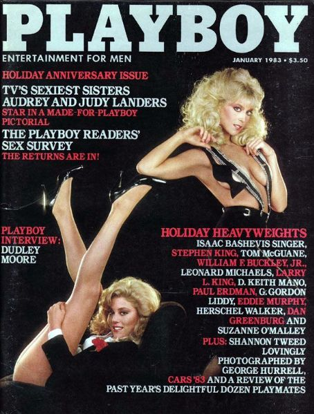 Audrey Landers - Playboy Magazine [United States] (January 1983)