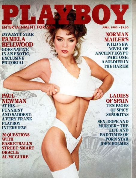 Carrie Leigh, Playboy Magazine April 1983 Cover Photo - United States