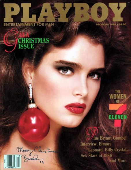Brooke Shields - Playboy Magazine [United States] (December 1986)