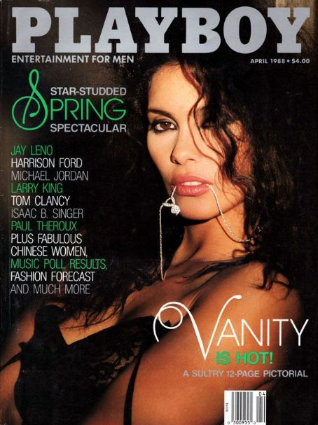 Vanity - Playboy Magazine [United States] (April 1988)