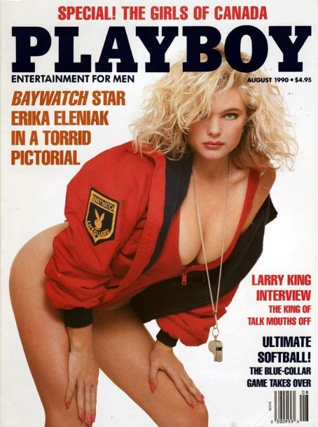 Erika Eleniak - Playboy Magazine [United States] (August 1990)