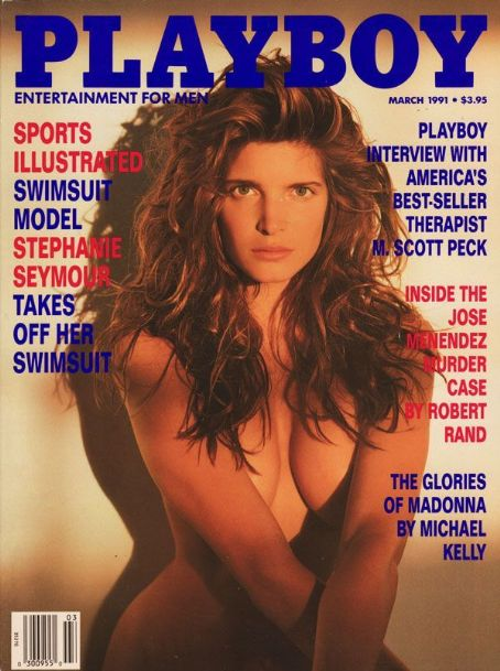 Stephanie Seymour - Playboy Magazine [United States] (March 1991)