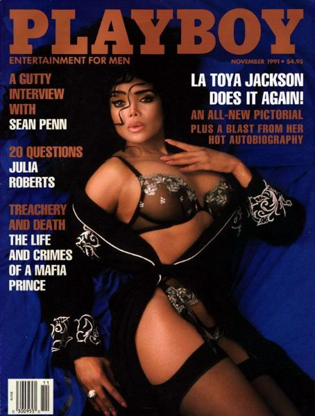 LaToya Jackson - Playboy Magazine [United States] (November 1991)