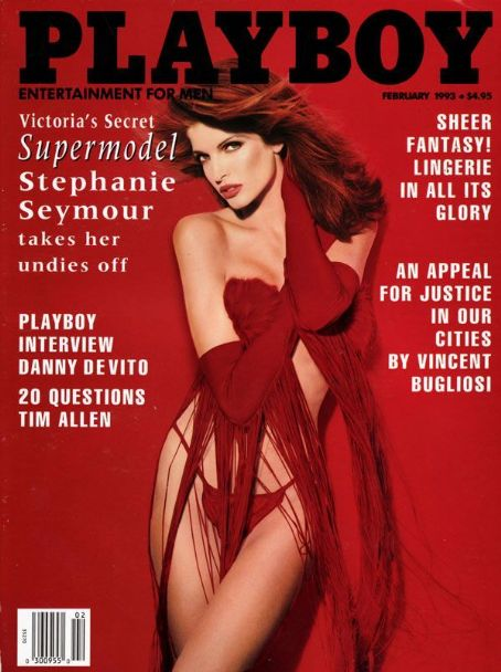 Stephanie Seymour - Playboy Magazine [United States] (February 1993)