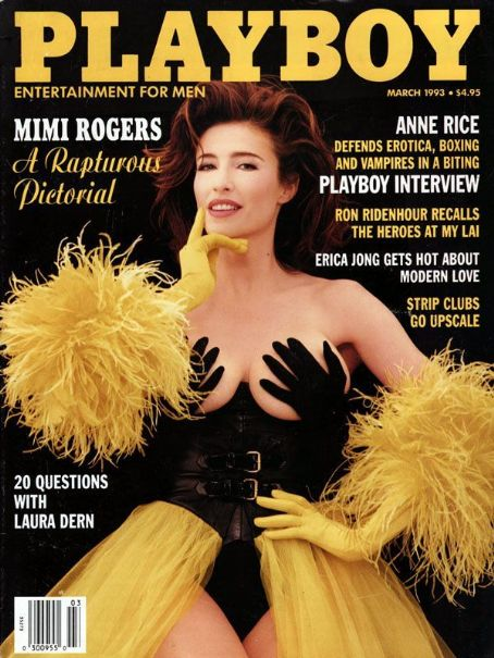 Mimi Rogers - Playboy Magazine [United States] (March 1993)